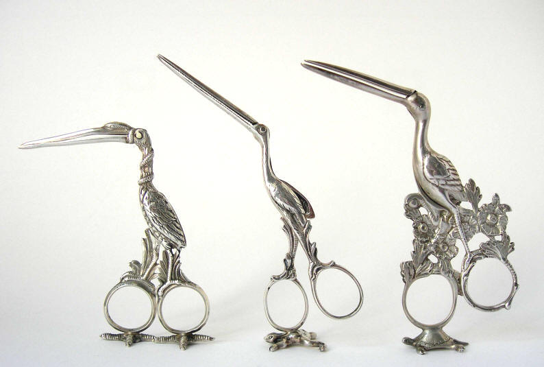 Pinza ombelicale cicogna pince ombilical cigogne birthing stork scissor