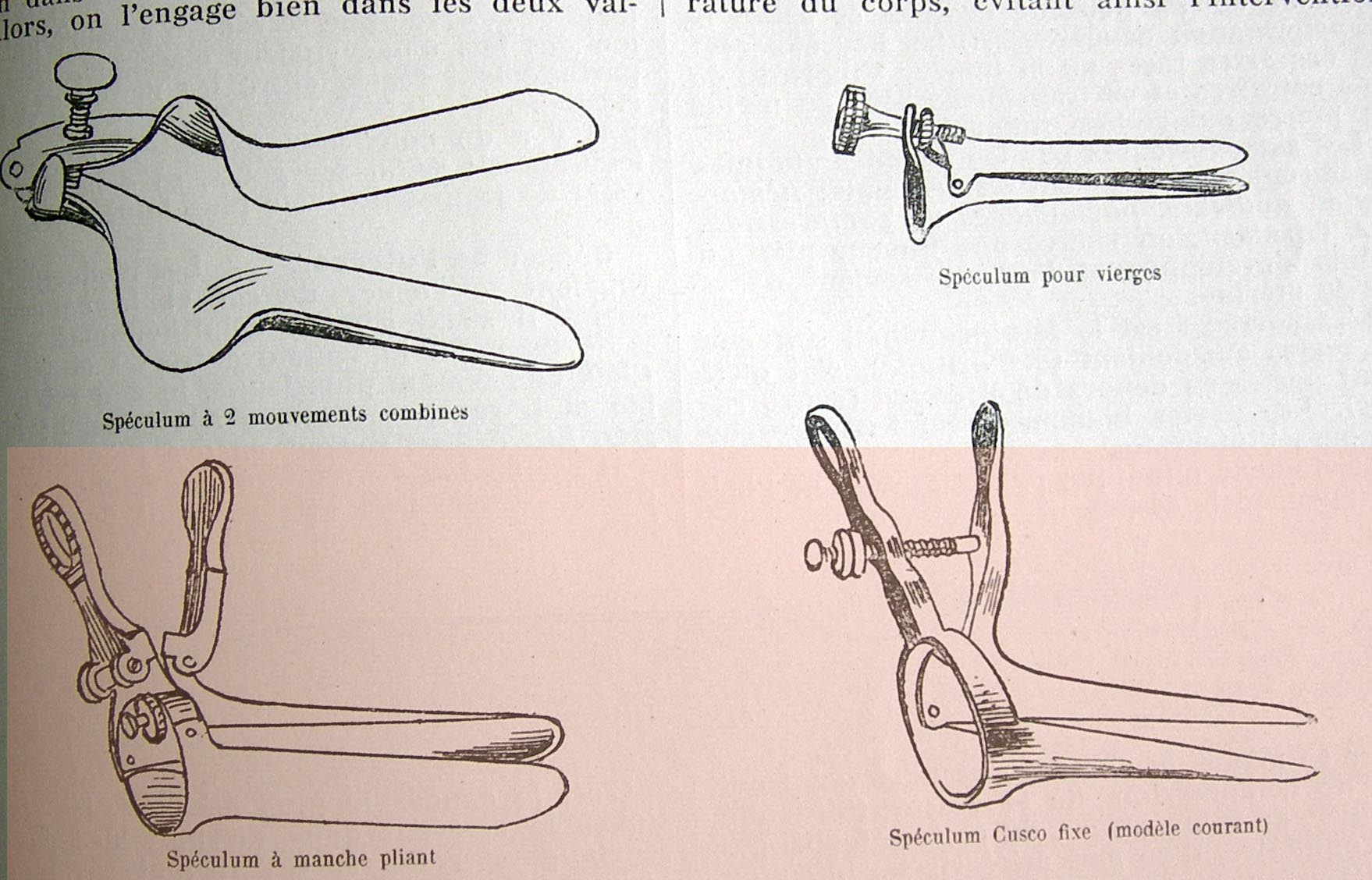 Cusco's vaginal speculum catalog 1
