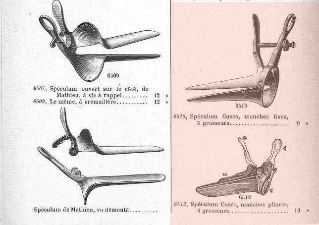 Cusco's vaginal speculum catalog 2