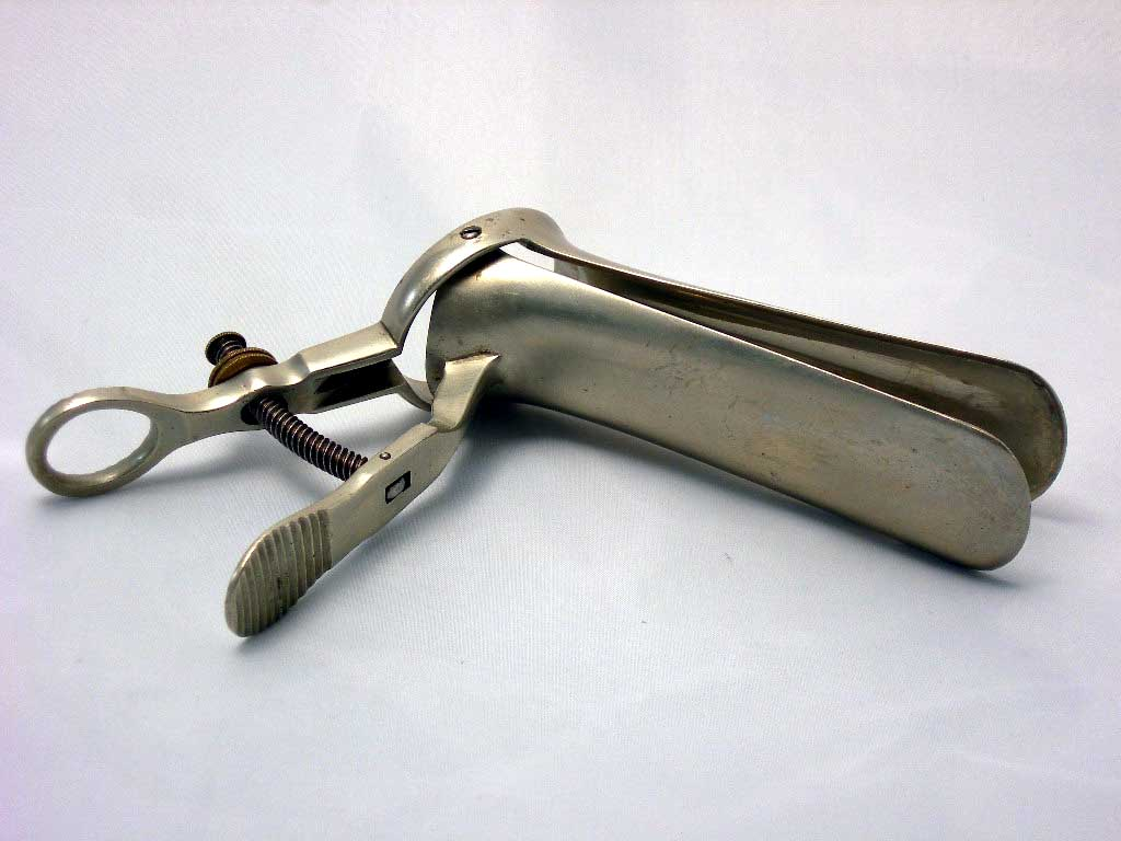Cusco's speculum fixed handle