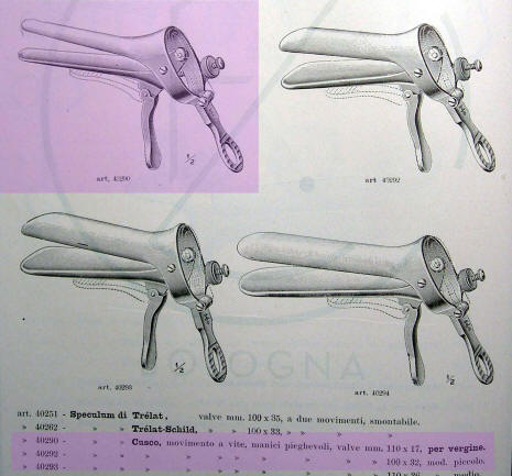 Vaginal speculum for virgin catalog